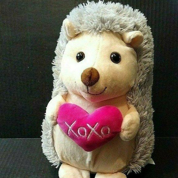 Blue Big Teddy Bear, Hug Fun Toys Hug Fun Hugfun Hedgehog Plush Stuffed Animal Poshmark